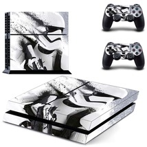 Star wars white knight ps4 decal sticker for console & controllers skin - $15.00