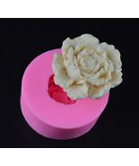 Peony Flower Silicone Fondant Mould Cake Decorating Chocolate Soap Mold ... - $5.90