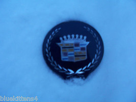1994 1996 SEDAN DEVILLE TRUNK LOCK BLUE COVER EMBLEM OEM USED ORIG CADIL... - $78.21