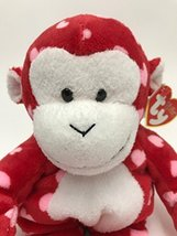 Ty Pluffies Harts - Monkey - $4.99