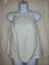 Women's Linen Cami Camisole tank top - A New Day White - $19.99