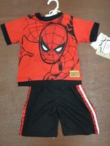 Marvel Comics Baby Boys' 2 Piece Spiderman Set sz 2T - $15.83