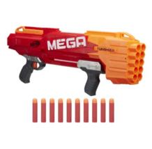 Nerf N-Strike Mega TwinShock, Blaster + Darts, B9893 Nerf Gun, Kids Toy ... - $145.62
