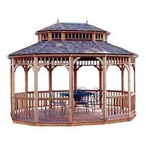 Home Garden Patio Outdoor Living Handy Home Monterey 10 x 14 ft. Wooden ... - $4,454.99