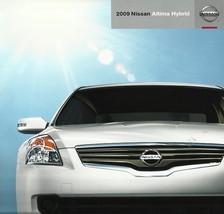 2009 Nissan ALTIMA HYBRID sales brochure catalog US 09 - $9.00