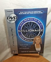 Who Wants to be a Millionaire DVD Game Meredith Viera New Sealed In Box - $15.93