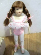 "Dakin Meggie Ballerina 8.5"" Doll Early design of Helen Kish in Original box  - $49.45"