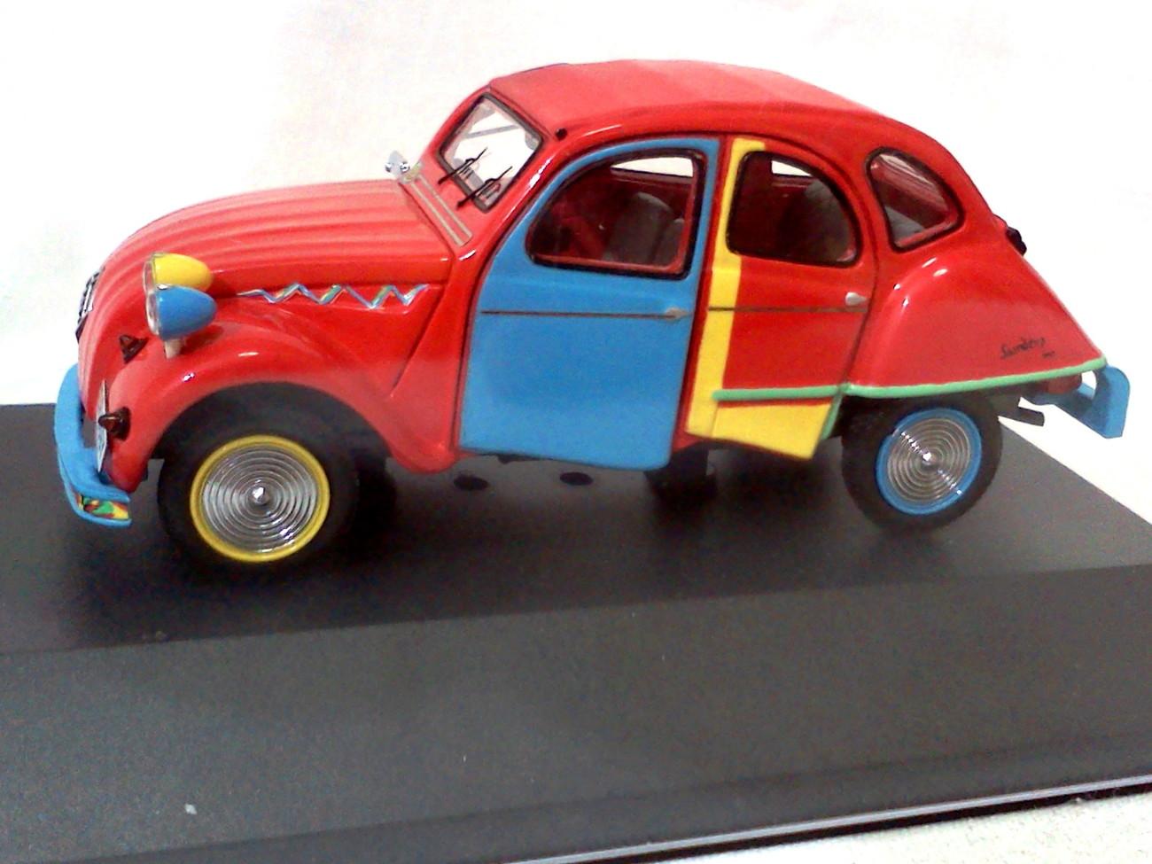 Citroen 2cs picasso 2007 red.3