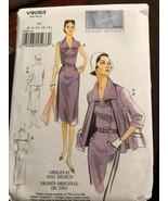 Vogue V9083 Vintage Model Original 1951 Design Jacket Dress Uncut Sizes ... - $26.43