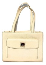Dooney & Bourke ~ Pebble Ivory Leather 'Janine with Front Pocket' Handbag ~$238 - $69.00