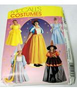 Storybook Costumes Snow White Rapunzel Belle Cinderella McCall's Pattern... - $10.00