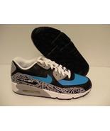 Nike Air Max 90 Premium Leder Unisex Schuhe Größe 7 Jugend US - $89.14
