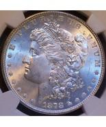 1878 MS 64 Vam 84A Long Nock Washed Out L Broken D Super CD E Clash  NGC... - $6.095,29 MXN