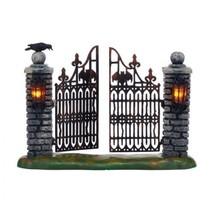 Department 56 Snow Village Halloween Spooky Wrought Iron Gate Figure 404... - ₨23,243.89 INR