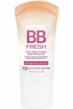 Dream Fresh Bb Cream Maybelline 8-In-1 Skin Perfector 1 Oz 110 Light/med... - $11.00