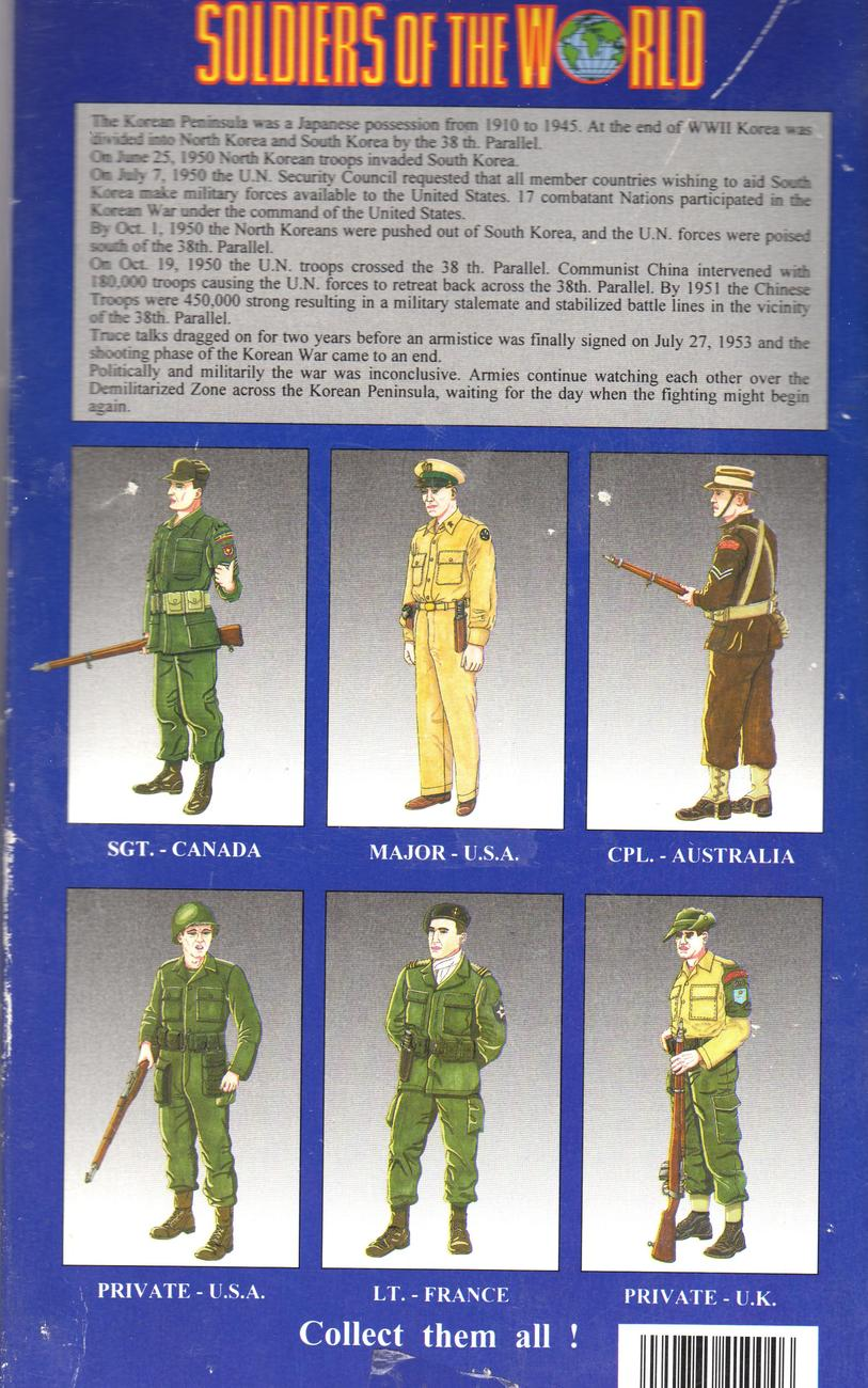 Soldiers of The World -  Korean War 1950-1953 (U.K. Private)