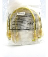 10 x CAT6 CAT 6 Ethernet Cable Lan Network Internet Patch Cord Yellow PO... - $12.58