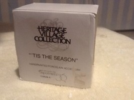 "Dept 56 Heritage Village - ""Tis The Season"" - #55395 - Mint Condition - $7.95"