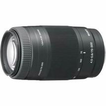 Sony SA-L75300 75-300mm F4.5-5.6 Zoom Telephoto Lens Sony A Mount Japan New - $225.01