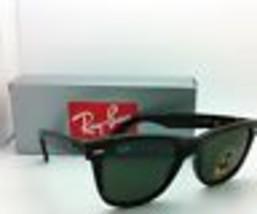 New Ray-Ban Sunglasses RB 2140 902 54-18 WAYFARER Tortoise w/ G-15 Green Lenses