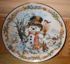 """Frosty the Snowman Limited Edition """"Franklin Mint"""" Christmas Plate - Dav... - $29.02"""