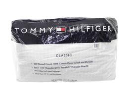 NEW TOMMY HILFIGER CLASSIC FIRM PILLOW SUPRALOFT FILL STANDARD (1) - $13.67