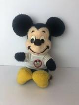 Vintage Mickey Mouse Club Plush Figure Walt Disney Characters California... - $22.27