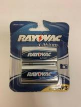 Rayovac 3V CRV3 Lithium Digital Photo Battery (2 - Pack) NEW SEALED Use by 2022 - $9.97