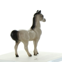 Hagen Renaker Miniature Horse Tiny Gray Stallion Ceramic Figurine image 4