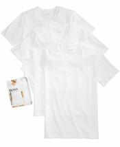 Hugo Boss Men's 3 Pack Pure Cotton Regular Fit V-Neck Shirt T-Shirt 50325386 image 2