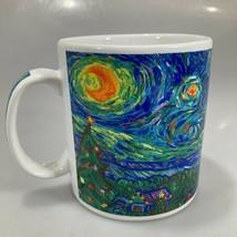 Starbucks Van Gogh Christmas Tree Starry Night Holiday Coffee Mug 16 oz ... - $31.85
