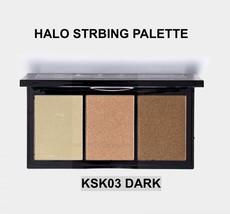 KISS NEW YORK PROFESSIONAL HALO STROBING PALETTE KSK03 DARK SHIMMER HITE... - $14.84