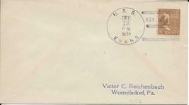 EVANS (DD-78) 13 Dec 1939 Locy Type 3r First Day Postal Service - $3.47