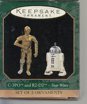 C-3PO & R2-D2 - Star Wars - Hallmark Keepsake Ornament - 2 Ornaments - 1... - $16.45