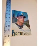 Bruce Bochte Ball Card 5x7 Seattle Marriners Player 1980 Topps MLB Baseball - $9.49