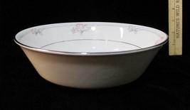 Serving Bowl Noritake Legendary Tarkington Round Pink Floral 3695 Vegetable - $16.82