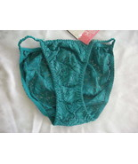 LACE STRING BIKINI TEAL GREEN BY COMMOTION SZ 6 - $3.99