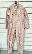 Genuine Us Air Force Tan Nomex Fire Resistant Flight Suit CWU-27/P - 46L - $64.35