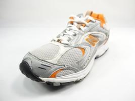 New Balance 411 White/Gray/Orange Running Womens Shoes Size 8.5B  - $48.27