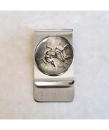 Archaeopteryx dinosaur fossil Paleontology Science Stainless Steel Money... - $20.00