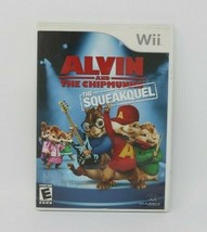 Alvin and the Chipmunks: The Squeakquel (Nintendo Wii, 2009) - $4.92