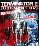 Terminaror 2  Judgment Day Endoskeleton Action Figure - $8.95