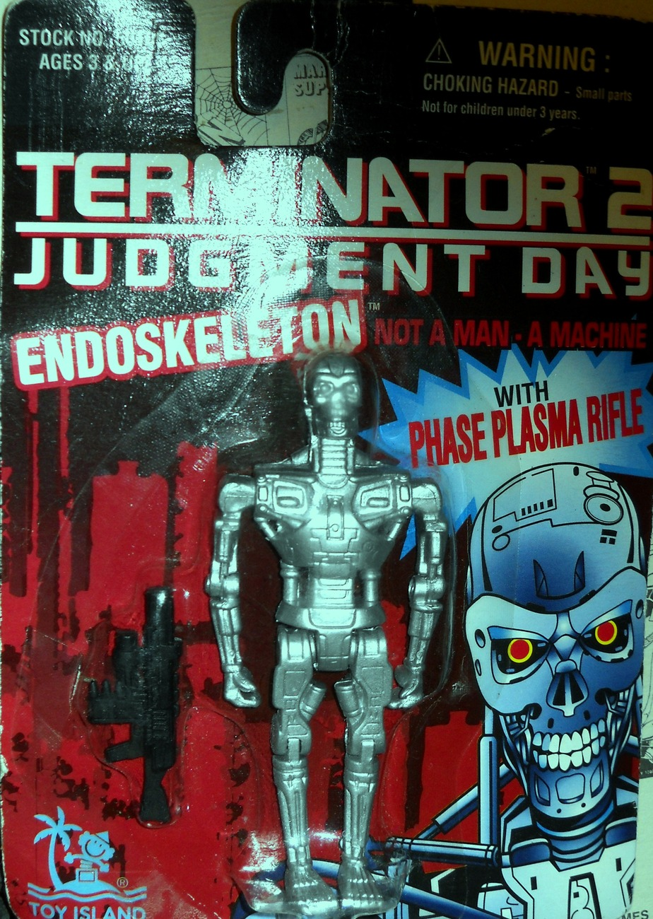 Terminaror 2  Judgment Day Endoskeleton Action Figure