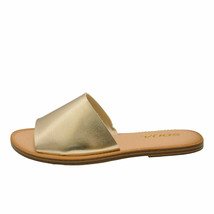 Soda SANSA-S Gold Women's Open Toe Slip On Slide Sandals - $24.95+