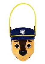 New Paw Patrol Chase Plastic Easter Basket Bucket with Handle - $13.85