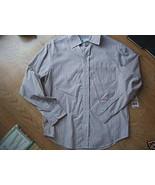 Ladies Greendog Brick stripe DRESS SHIRT Sz S XS NEW - $9.99