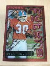 1996 Topps Finest #16 Terrell Davis Denver Broncos Football Card - $1.93