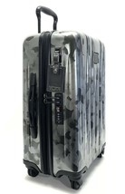 Tumi V3 Expandable Continental Carry-On Spinner Luggage Galvanized Silver  - $494.99