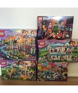 Mass Lego Friends 5-Piece Set 41130 41313 41346 41314 41353 Amusement Park - $388.87