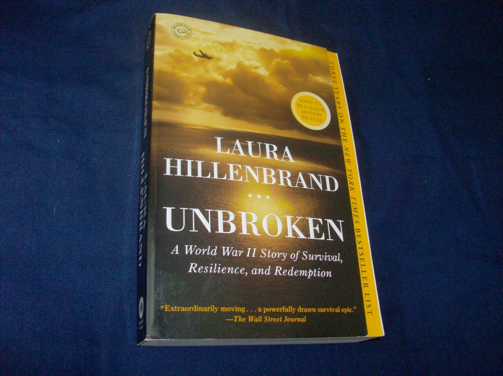 unbroken by laura hillenbrand essay Bravery, resilience, survival of louie zamperini laura hillenbrand is an amazing writer and the new york times bestselling author of the book seabiscuit.